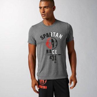 Pánské tričko Reebok Spartan SS GRAPH T