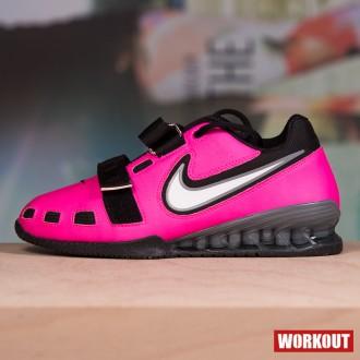 Vzpěračské boty Nike Romaleos 2 - Růžové
