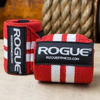 Zpevňovač zápěstí Rogue - Red White - 24