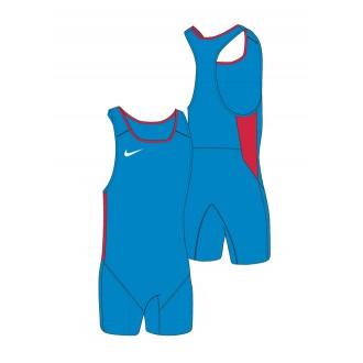 Pánský Nike Weightlifting Singlet blue/scarlet