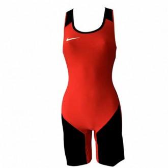 Dámský trikot Nike Weightlifting Singlet red/black