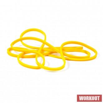 Odporová guma WORKOUT žlutá - 7 kg
