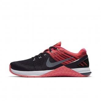 Dámské boty Nike Metcon DSX Flyknit - růžové/černé