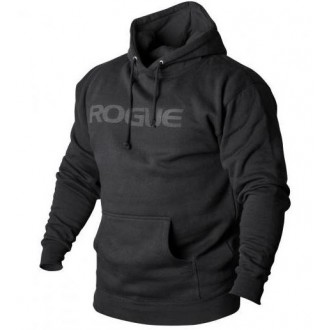 Pánská mikina Rogue Basic Hoodie - černá