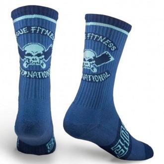 Ponožky Rogue International navy/aqua