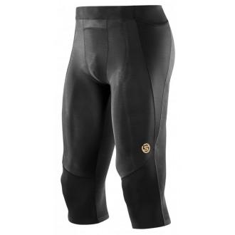 Pánské kompresní kalhoty Skins A400 Black Mens 3/4