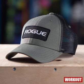 Kšiltovka Rogue Fitness Patch Trucker - zelená