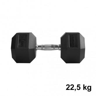 Jednoručka Hexhead Dumbbell Thornfit - 22,5 kg