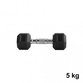 Jednoručka Hexhead Dumbbell Thornfit - 5 kg