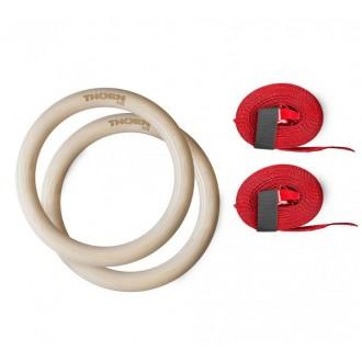 Gymnastické kruhy ThornFit - průmer 32 mm
