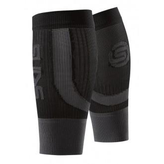 Návleky Skins Essentials Seamless Calftights Fluro Black/Pewter