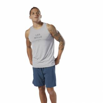 Pánské tričko Les Mills Active Chill TANK - DV2719