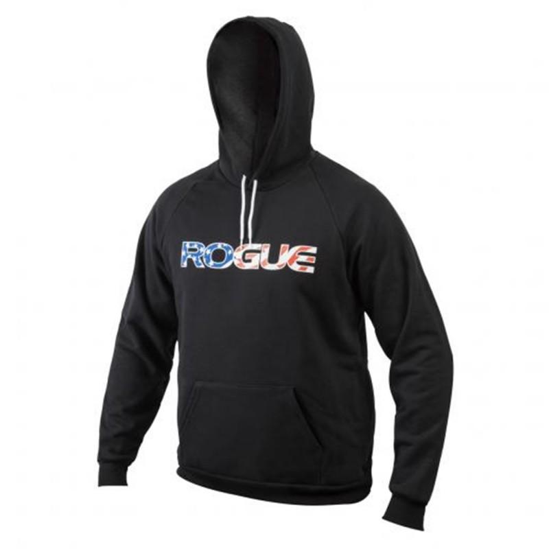 Pánská mikina Rogue Basic Hoodie - American flag