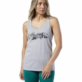 Dámský top Reebok CrossFit Print Fill Logo Tank - DY8407