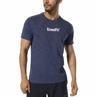 Pánské tričko Reebok CrossFit Marble Melange CrossFit Tee - DY8425