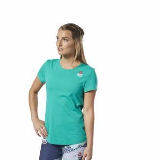 Dámské tričko Reebok CrossFit AC + Cotton Tee Games - EC1393