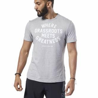 Pánské tričko Reebok CrossFit OPEN Verbiage Tee - FP9354