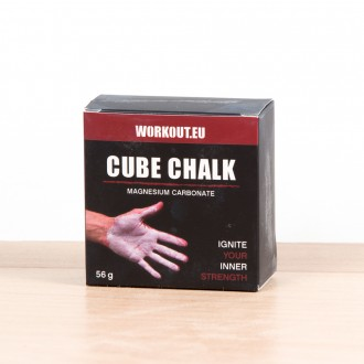 Magnésium kostka 56g Chalk Block WORKOUT