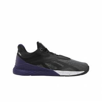 Pánské boty Reebok CrossFit Nano X - black/purple - EF7071