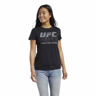 Dámské tričko UFC FG LOGO TEE - FK2357