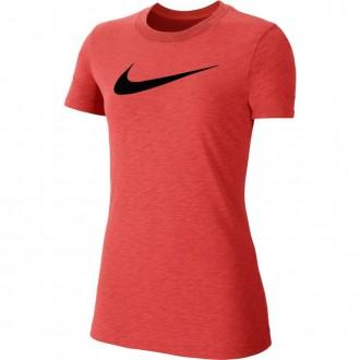 Dámské tréninkové tričko Nike Dri-FIT red/black