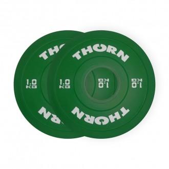Frakční kotouče ThornFit - 2x 1 Kg