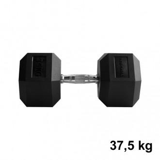 Jednoručka Hexhead Dumbbell Thornfit - 37,5 kg