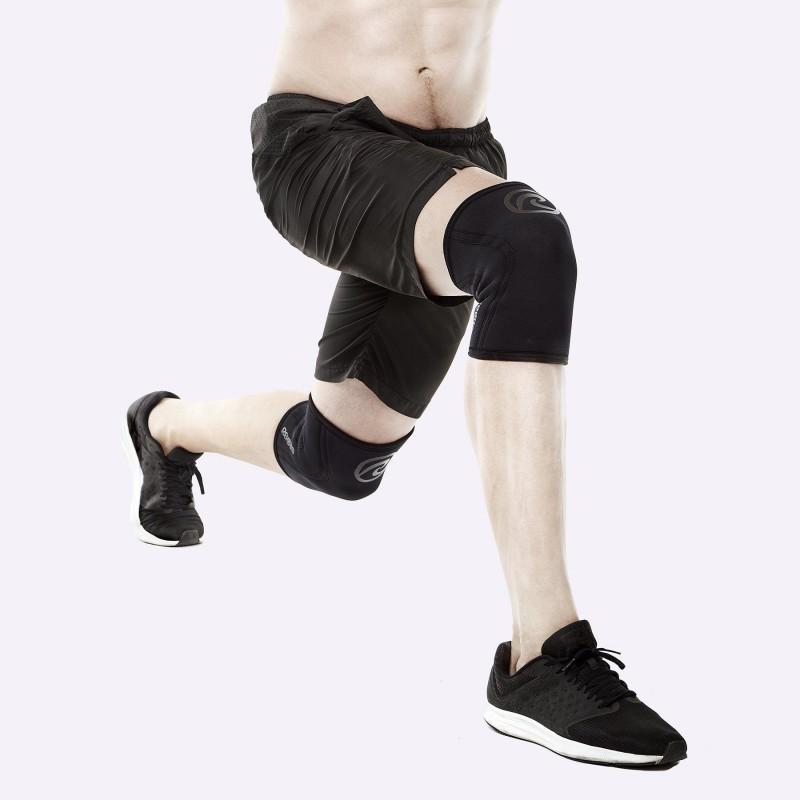 Bandáž kolene Rehband 5 mm - černé carbon