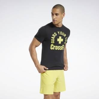 Pánské tričko Reebok CrossFit Guard Your Life Tee - FU1872