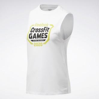 Dámský top Reebok CrossFit Games Crest Tank - FU2546