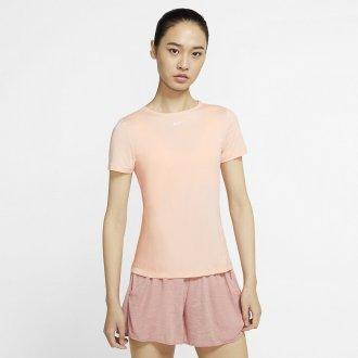 Dámské tričko Nike Pro 365 SS ESSENTIAL - Růžové