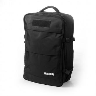 Fitness batoh WORKOUT s kapsou na mokré oblečení - 35 l