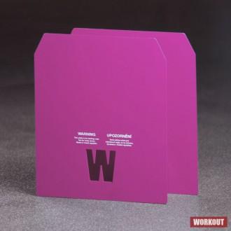 2 x 2.41 kg pláty pro zátěžovou vestu WORKOUT - WOMEN MURPH (i s vestou 14 lb)