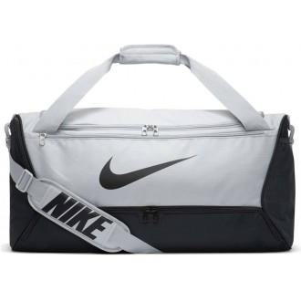 Tréninková taška Nike Brasilia - medium šedá