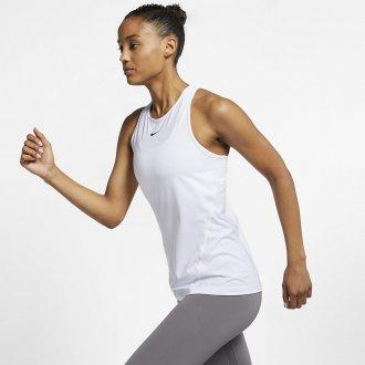 Dámské tílko Nike ALL OVER MESH - bílé