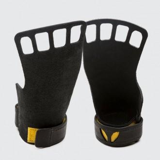 Dámské kožené mozolníky 4-prsté černé