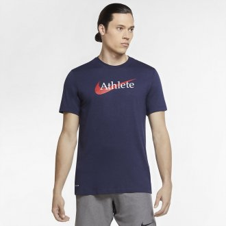 Pánské tričko Nike Athlete dri-fit navy