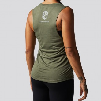 Dámský top Honor the Fallen Flowy Muscle Tank (Military Edition)