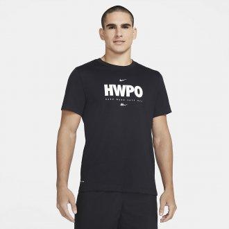 Pánské tričko Nike HWPO - černé
