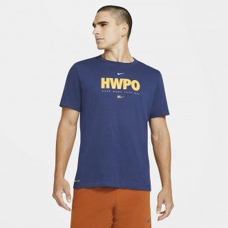 Pánské tričko Nike HWPO - modré