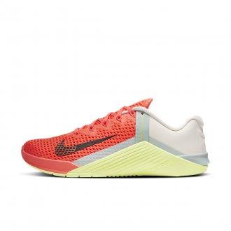 Dámské tréninkové boty Nike Metcon 6 - Bright Mango/DK Smoke Grey