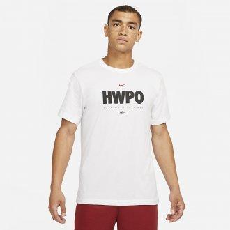 Pánské tričko Nike HWPO - BÍLÉ