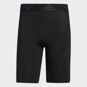 Pánské elastické šortky - black/white