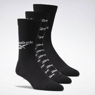 CL FO Crew Sock 3P BLACK