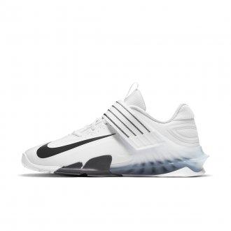 Pánské vzpěračské boty Nike Savaleos - White/Black-Iron Grey