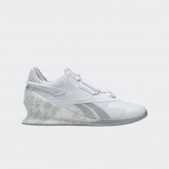 Dámské  vzpěračské boty Legacy Lifter II - HO2848 bílé
